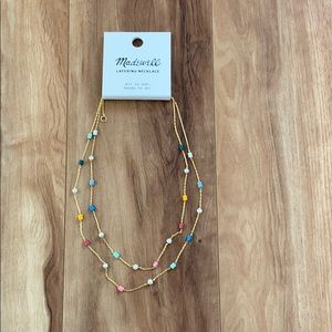 Madewell multicolor beaded  Necklace